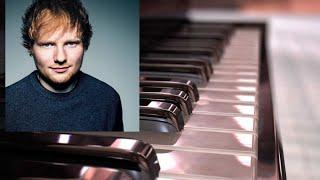 Ed Sheeran Shape Of You On Piano Amazing 2019