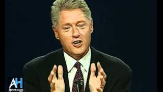 1996 Presidential Debate: Bill Clinton vs. Bob Dole