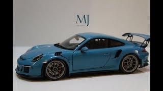 New Model! Porsche 911 (991) GT3 RS Miami Blue by Autoart 78167 118