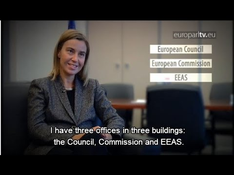The EU's foreign policy chief: Federica Mogherini - a video by EuroparlTV