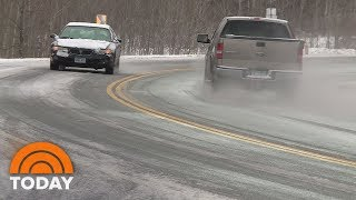Forecast: Winter Storm Hampers Holiday Travel   TODAY