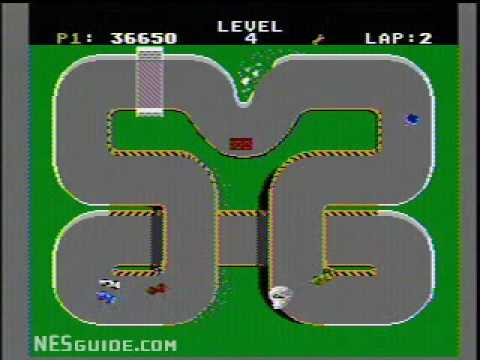 supercars nes game