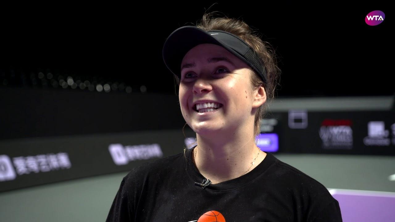 Свитолина поделилась воспоминаниями о своих победах на пути к титулу на WTA Finals