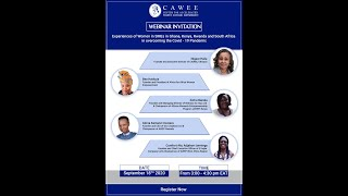 Experiences of Women SMEs in Ghana, Kenya, Rwanda & South Africa in Overcoming the COVID-19 Pandemic