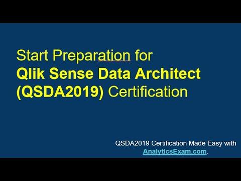 [Latest] Qlik Sense Data Architect (QSDA2019) Certification ...