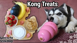 Strawberry Banana Dog Ice Cream Kongs | DIY Frozen Dog Treats 121
