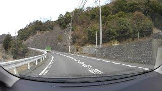 広島県道174号瀬野呉線、熊野町r34-R2広島市安芸区車載動画