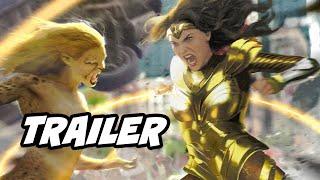 Wonder Woman 1984 Trailer - Wonder Woman vs Cheetah Breakdown and Easter Eggs