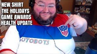 Mcjuggernuggets, New Shirt, Health Update, Holiday Schedule!
