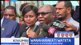 KNHCR yaanda maandamano ya kumbukumbu za afisa Chris Msando aliyeuwawa: Kivumbi 2017