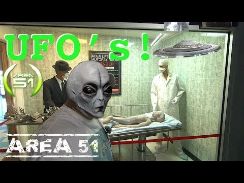 Storming Area 51, I Found Aliens & UFO's in Roswell