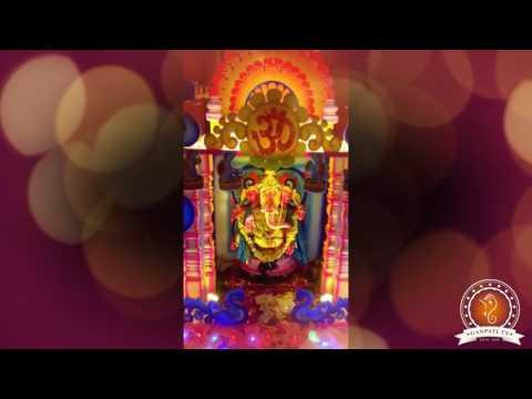 Ravichandran C Home Ganpati Decoration Video