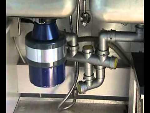Dissipatore alimentare (tritarifiuti) domestico da lavello