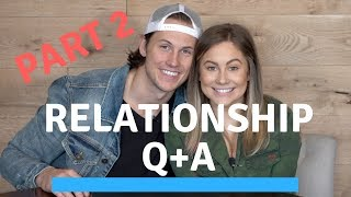 the hardest thing about marriage... relationship q+a | shawn johnson + andrew east