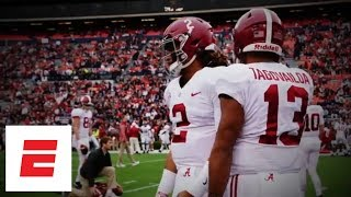 Jalen Hurts or Tua Tagovailoa: Who will be Alabama football's starting QB?   ESPN