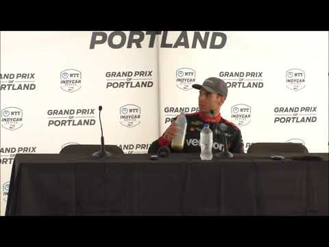 2019 IndyCar Portland Post-Race Press Conference