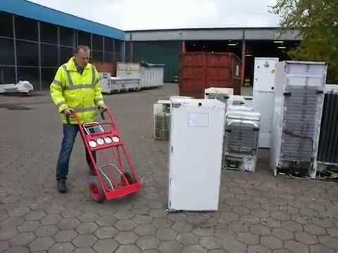 Sackkarre MagnoJack transportiert schwere Lasten mit Leichtigkeit