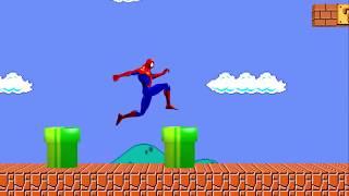 Super Spiderman Bros 3D