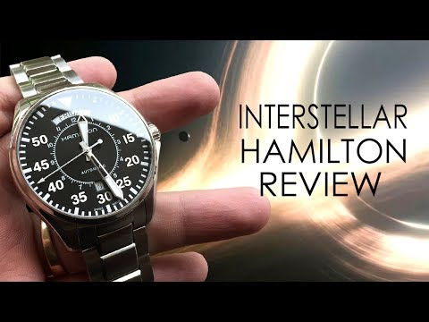 Interstellar Watch - Hamilton Pilot Day Date Auto Review
