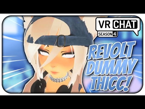 [VRChat] S4;Part 16 - Revolt got Dummy THICC! + Meeting a Yandere! (VRChat Funny)