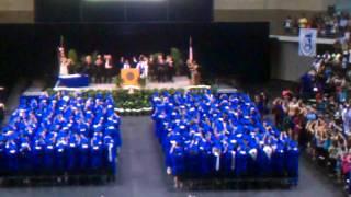 Lake View Fight Song at Graduation 2012