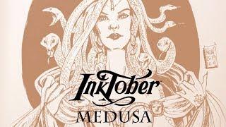 Inktober Drawing – Medusa