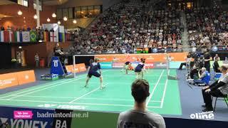 2018 - Winning matchpoint Marcus Ellis and Lauren Smith in Yonex Dutch Open 2018 XD SF