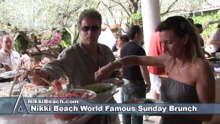 Nikki Beach Miami Beach World Famous Brunch
