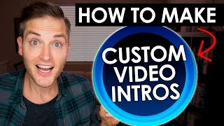 How to Make Intros for YouTube Videos — Video Bumpers and Logo Stings Tutorial