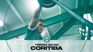 Treino Coritiba - 02/06