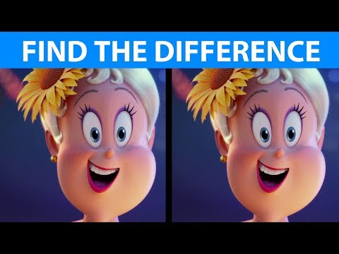 BET YOU CAN'T FIND THE DIFFERENCE! | 100% FAIL | Hotel Transylvania 3 Movie Puzzle