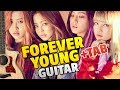 Black Pink - Forever Young (Fingerstyle Guitar Cover + Tabs, Chords)