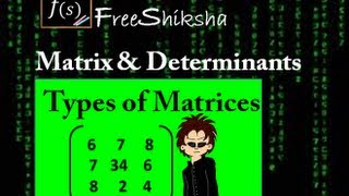 Matrices and Determinant IIT JEE MAINS ADVANCED MATHS - IIT JEE and