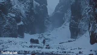 Jon Snow Kills a White Walker and Captures The dead!!!