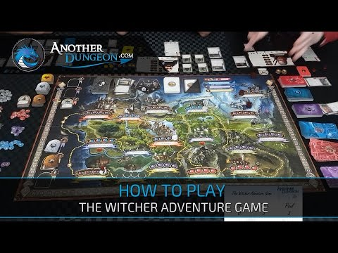 How to Play The Witcher Adventure Game - Episode 2 - Demo Game