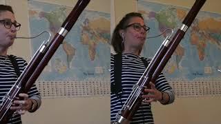 Multitrack recording - Galliard Bassoon Sonata No.3 Allegro