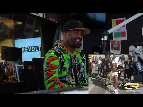 Dj Clue Chops it up with Dababy About His Start in The Industry,New Project