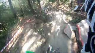 preview picture of video 'Buzet DH 2012 Helmetcam (UCI C2 Race)'