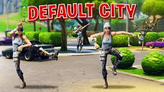 default city in fortnite battle royale - yoboy pizza fortnite hide and seek
