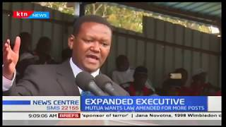 Alfred Mutua: The thought of having an expanded government is worth considering