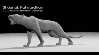 3D Character Animation Demo Reel (April 2011)