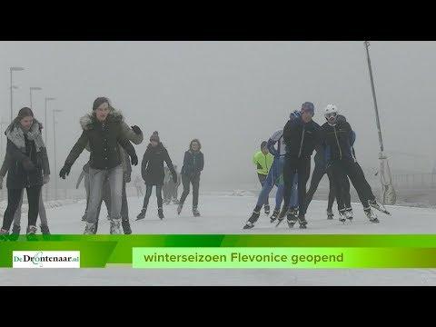 VIDEO | Cadeautje van 10-jarige Flevonice aan Dronten: hele dag schaatsen voor 1 euro