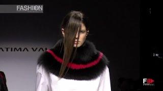 FATIMA VAL Milan Fashion Week Fall 2015 by Fashion Channel