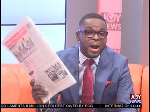 Storm Drains Remain Uncovered - AM Show Headlines on JoyNews (12-11-18)