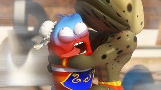 LARVA - STREET FIGHTER | Cartoon Movie | Cartoons For Children | Larva Cartoon | LARVA Official