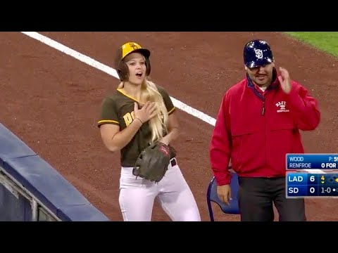 MLB ballgirls are legit.