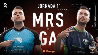 Movistar Riders VS GA Esports | Jornada 11 | Temporada 2018/2019