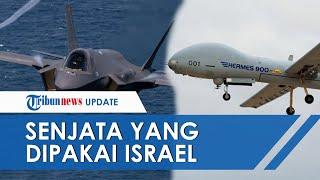 Beberapa Senjata yang Digunakan Israel untuk Gempur Jalur Gaza, Ada Pesawat Tempur hingga Iron Dome