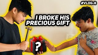 I BROKE JASH'S PRECIOUS GIFT || HIS ANGRY REACTION || TWO SIDE GAMERS VLOG 8