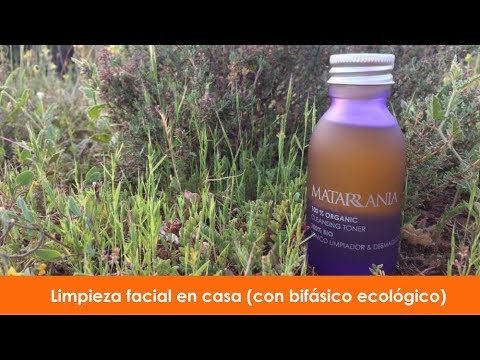 Loción Limpiadora y Desmaquillante Bio Matarrania 100ml